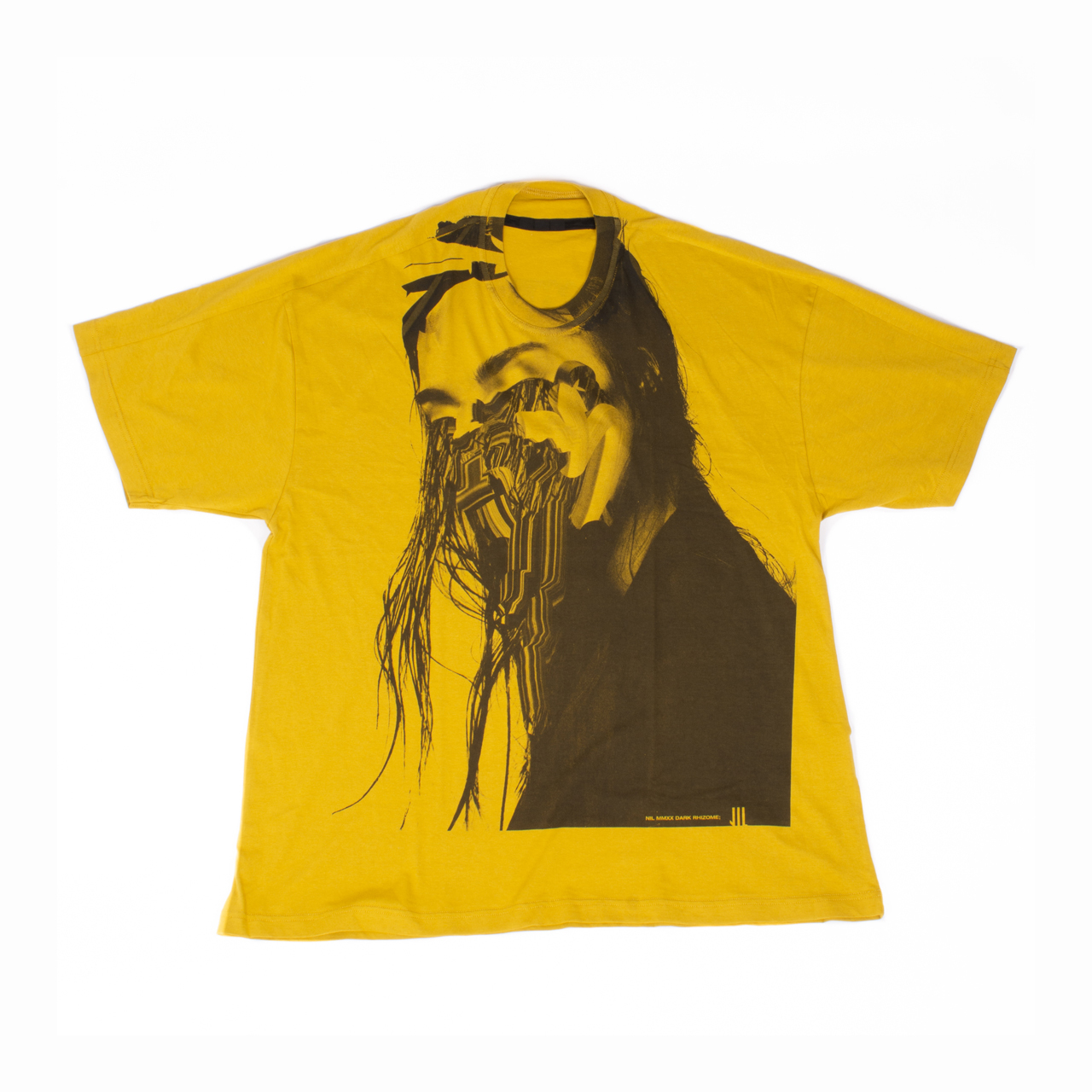 701CPM12-MUSTARD / Jesse Draxler プリント Tシャツ ver.2