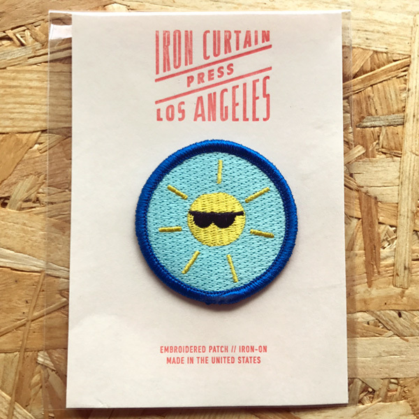 Iron Curtain Press Patches / Sunshine