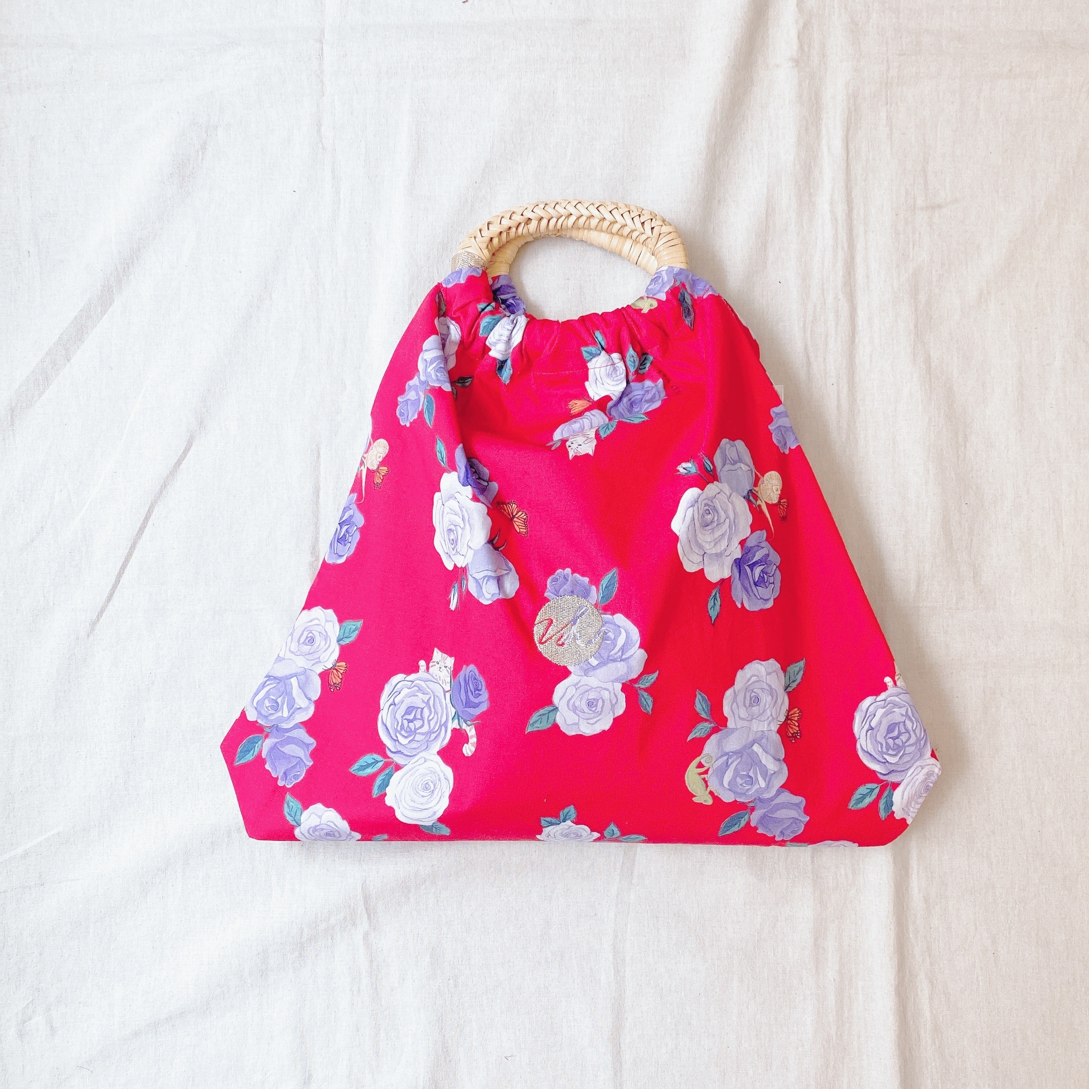 VL by VEE Rattan Bracelet Bag