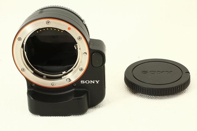 SONYソニー LA-EA4 マウントアダプター 美品ランク/9501