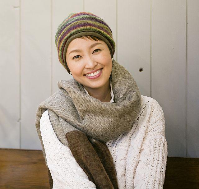【送料無料】こころが軽くなるニット帽子amuamu 新潟の老舗ニットメーカーが考案した抗がん治療中の脱毛ストレスを軽減する機能性と豊富なデザイン NB-6540 四季シリーズ