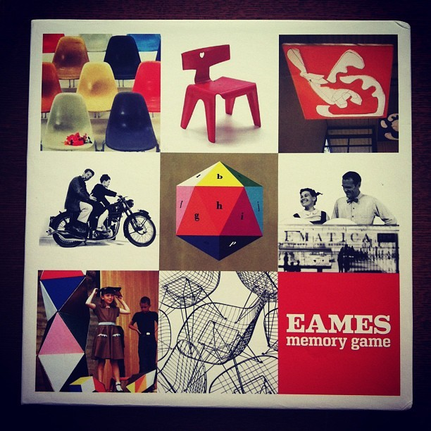 雑貨「イームズのメモリーゲーム」 - 画像1