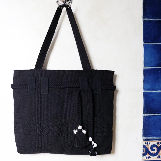 サポテコ手織りのトートバッグ /210b/ MEXICO メキシコ