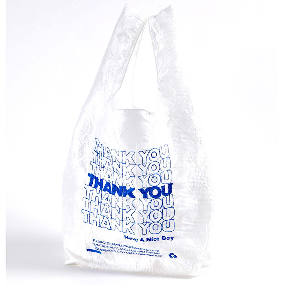 OPEN EDITION  THANK YOU BLUE TOTE