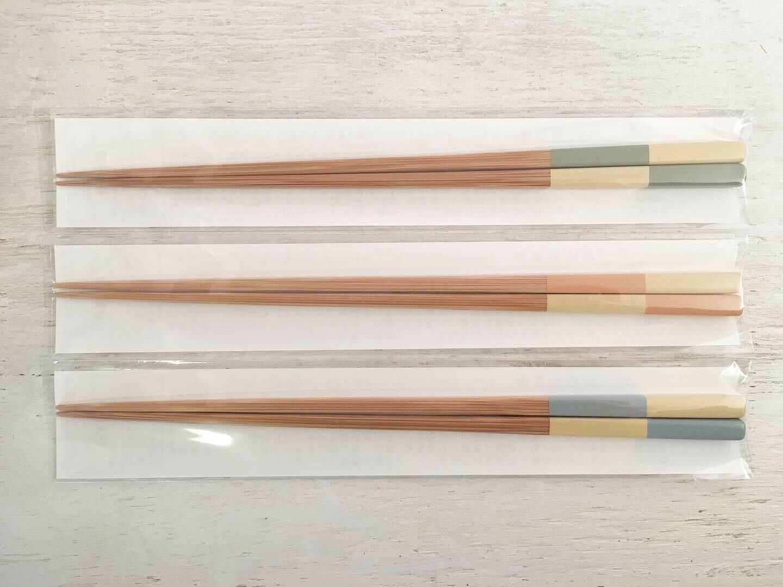 けはれ竹工房 自然塗料箸 いちまつ