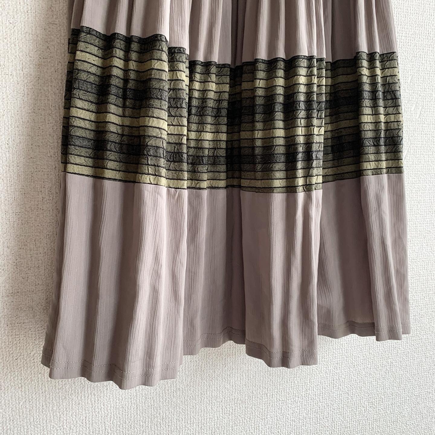 【SALE】vintage gather skirt