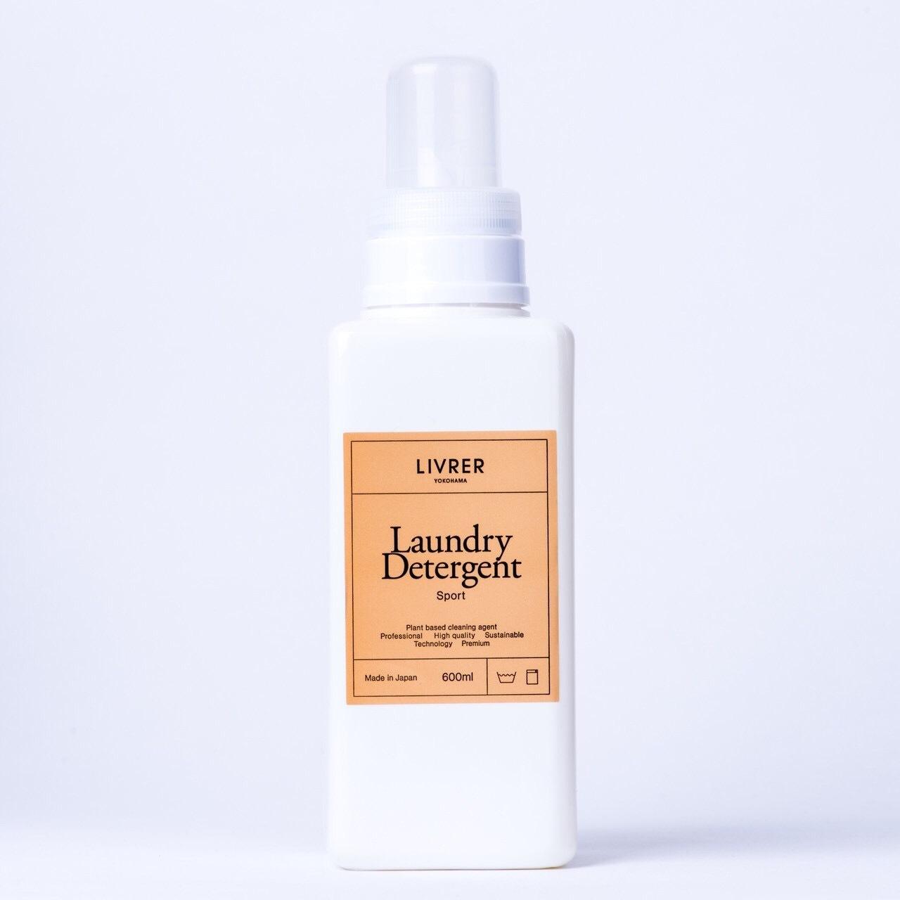 スポーツ/綿、麻、合成繊維用 洗濯用洗剤▶︎ Laundry Detergent Sport 600mL