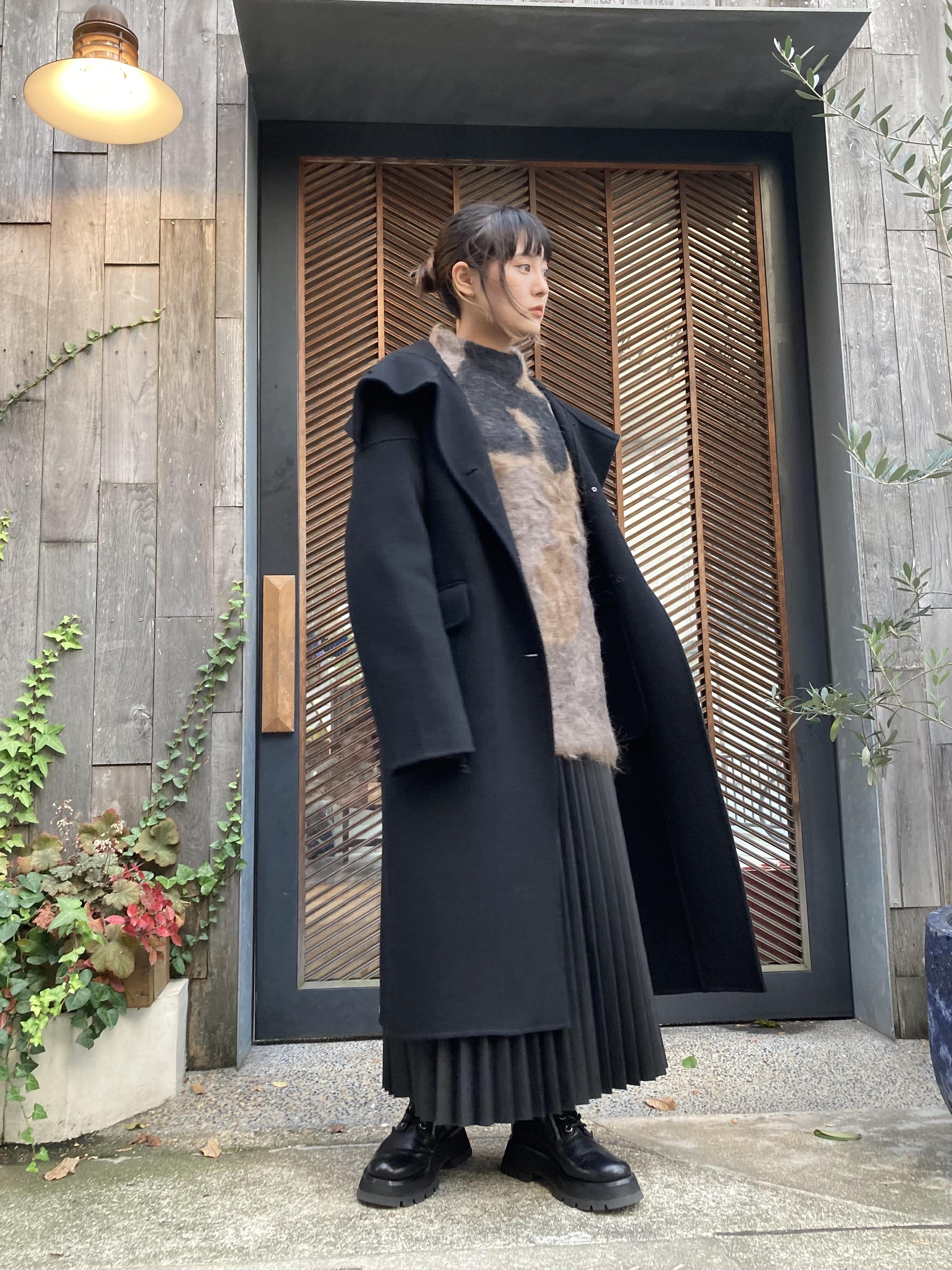 お問い合わせ商品【20AW】PERVERZE パーバーズ / Hight Wool Coat