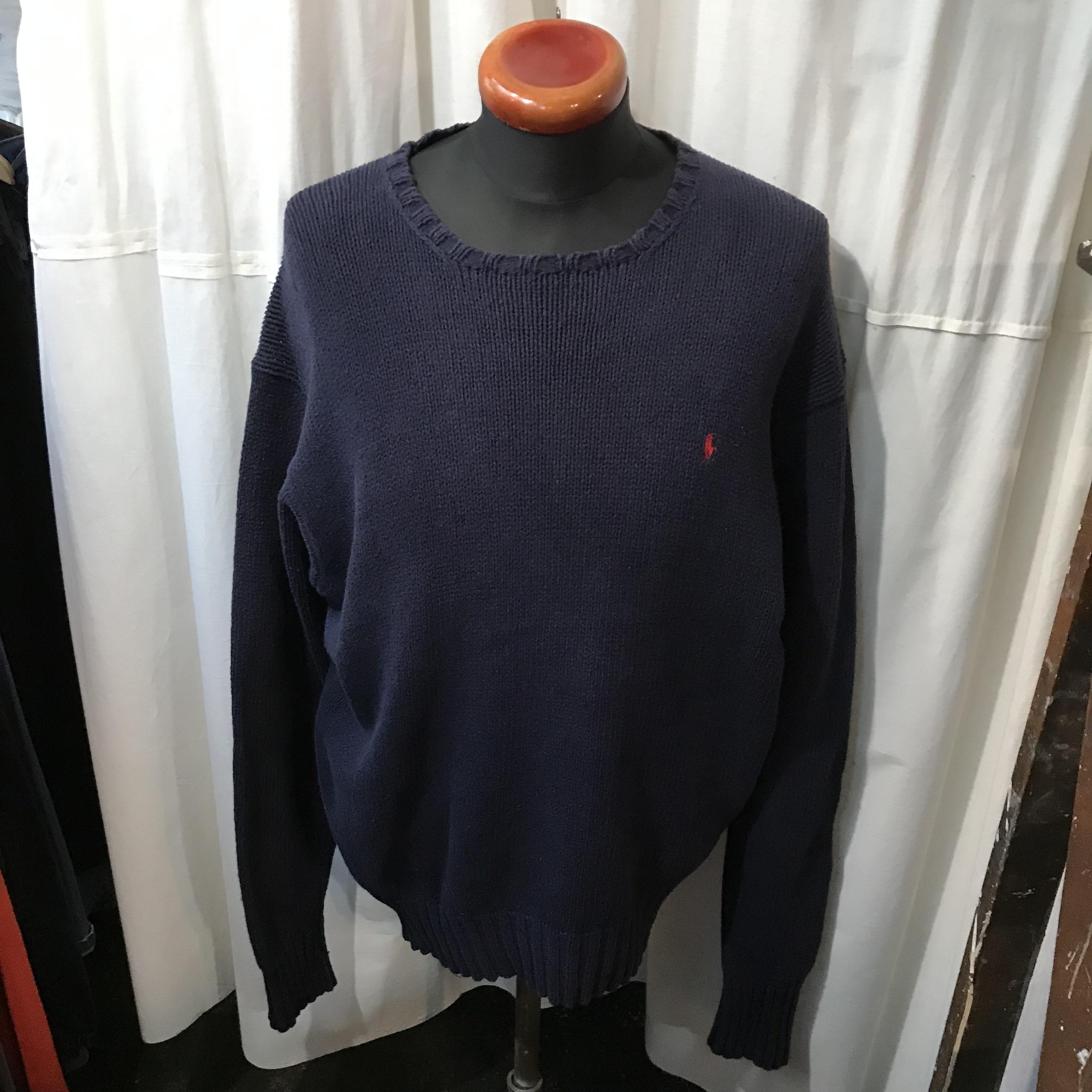 Ralph Lauren ラルフローレン コットンセーター 100% cotton メンズXL