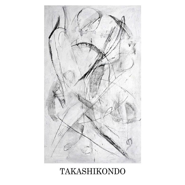 TAKASHIKONDO 絵画 Untitled(#011)
