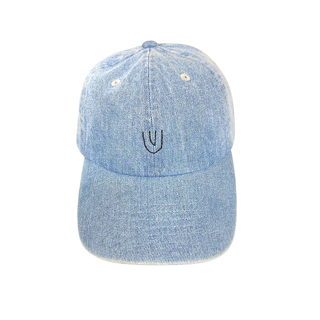 """Symbol -denim-"" Baseball Low Cap"