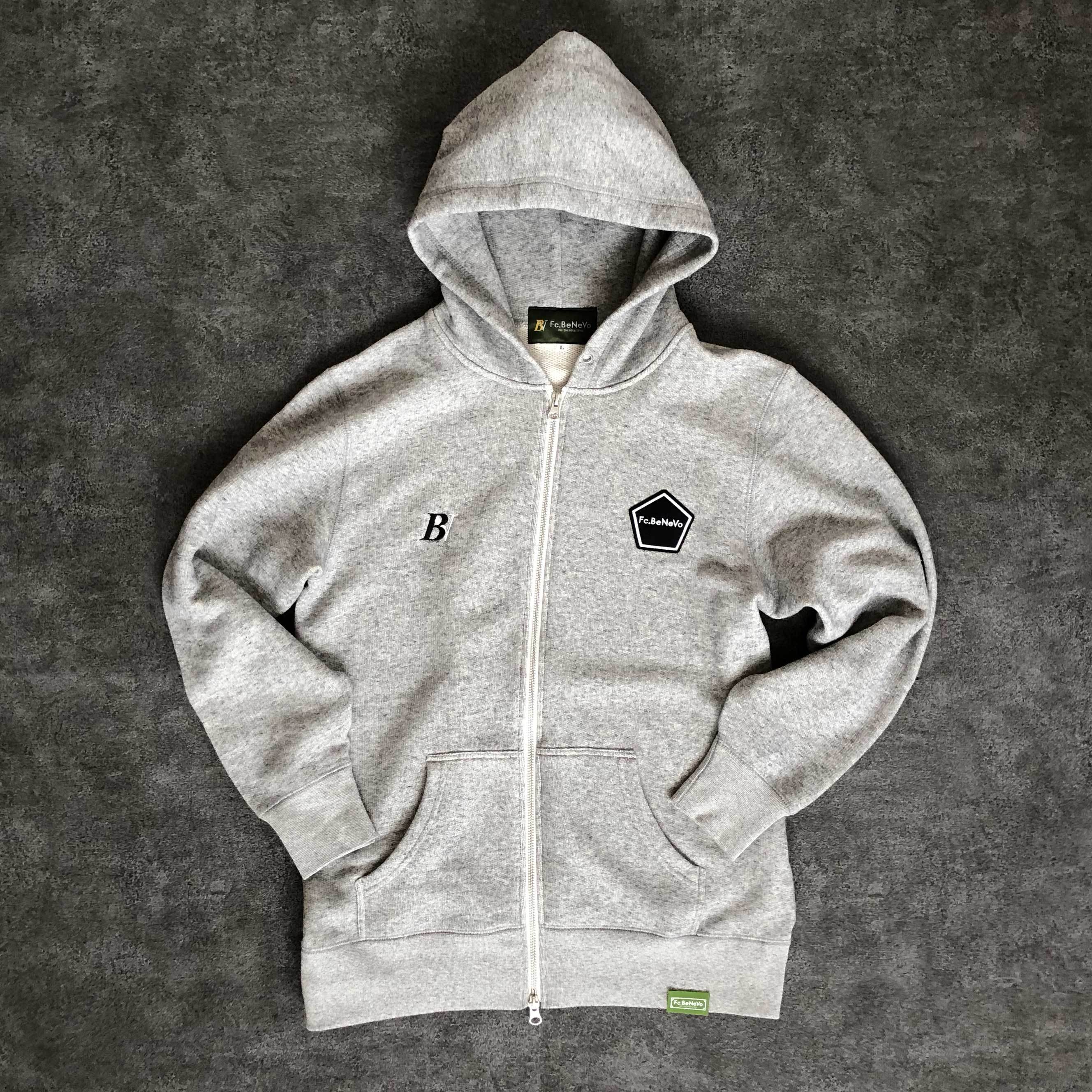 ZIP-UP SWEAT PARKA (GREY)