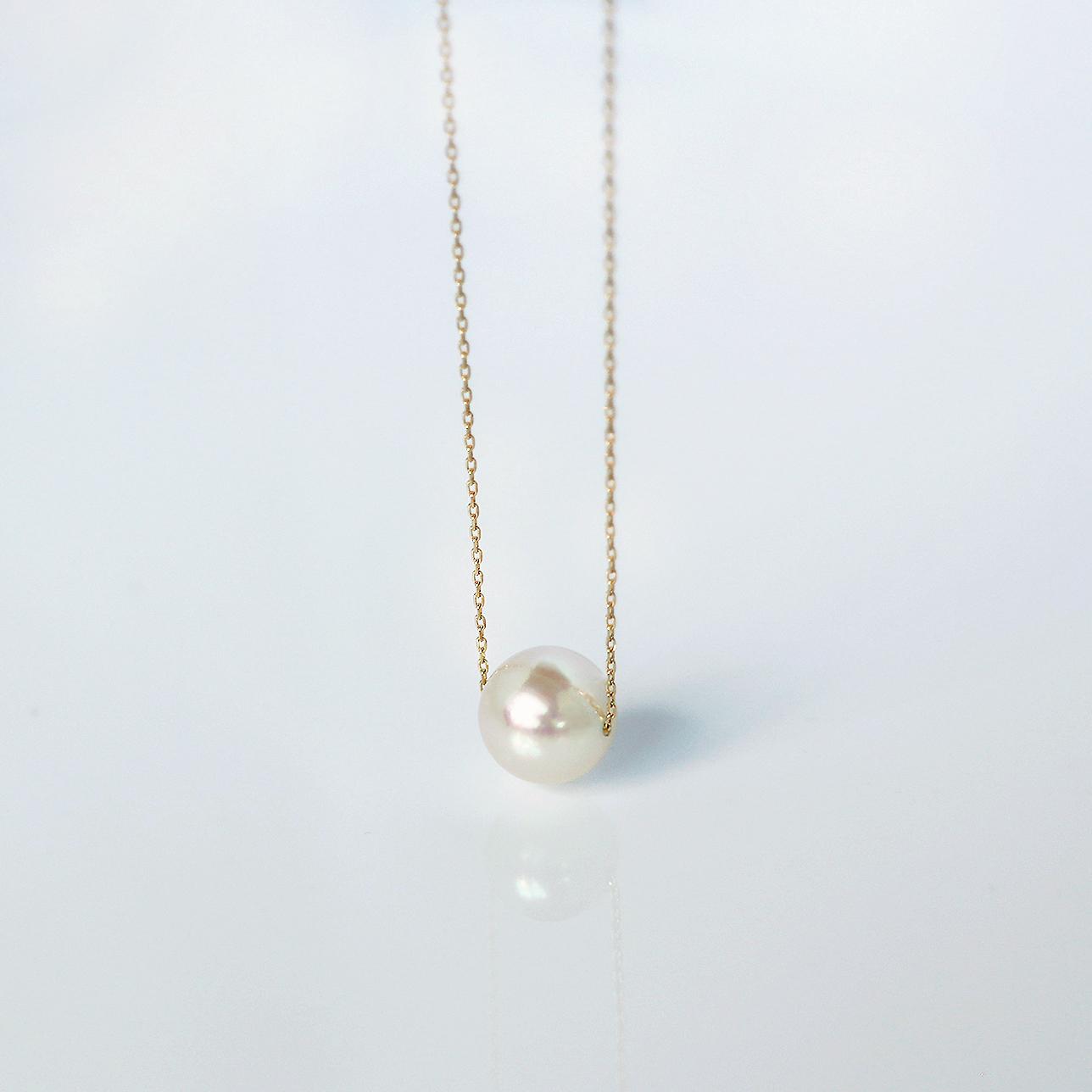 BASIC / Necklace (White)