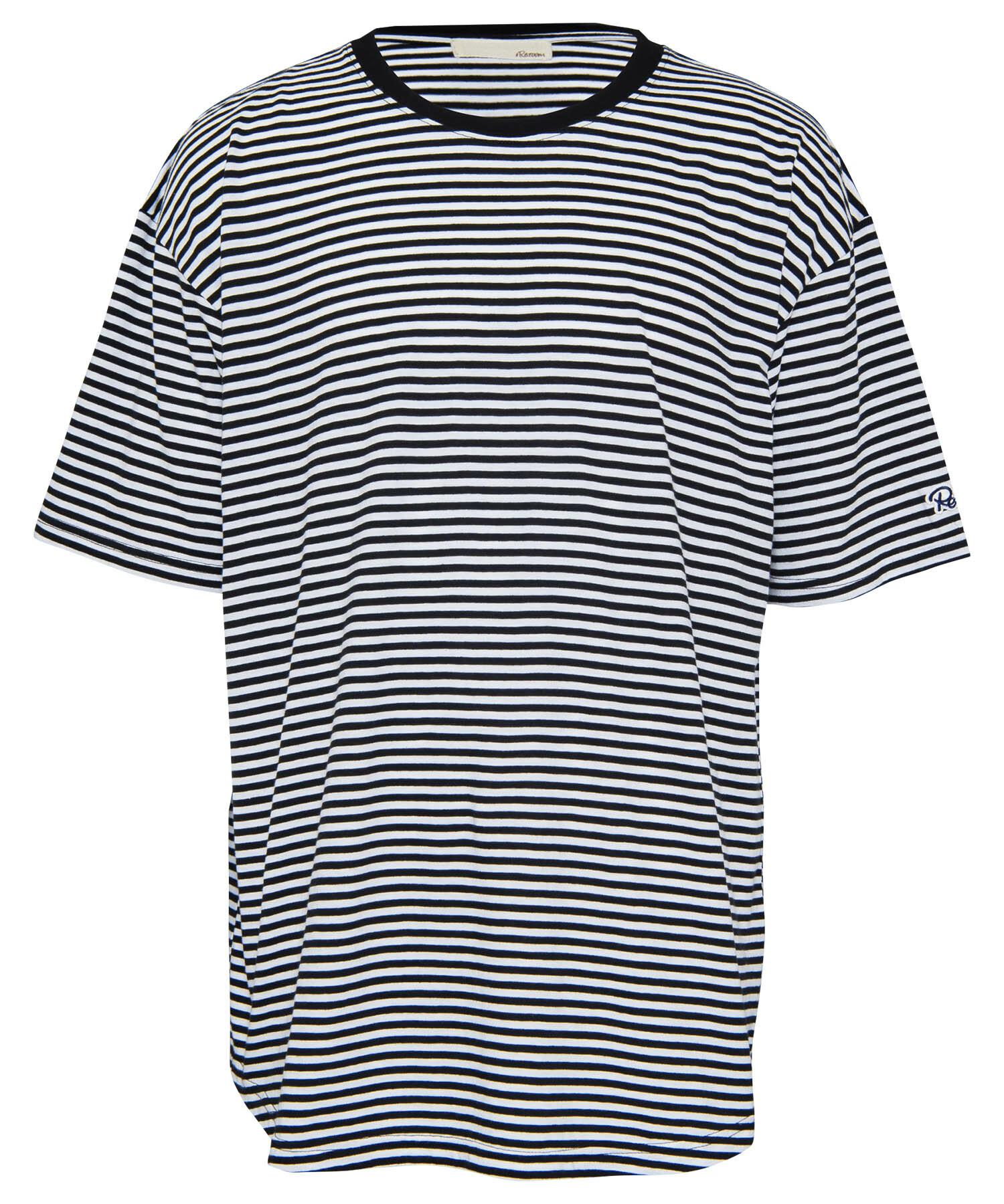 PLANE BORDER BIG T-shirt[REC282]