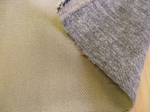 ストレッチ カラーデニム裏起毛