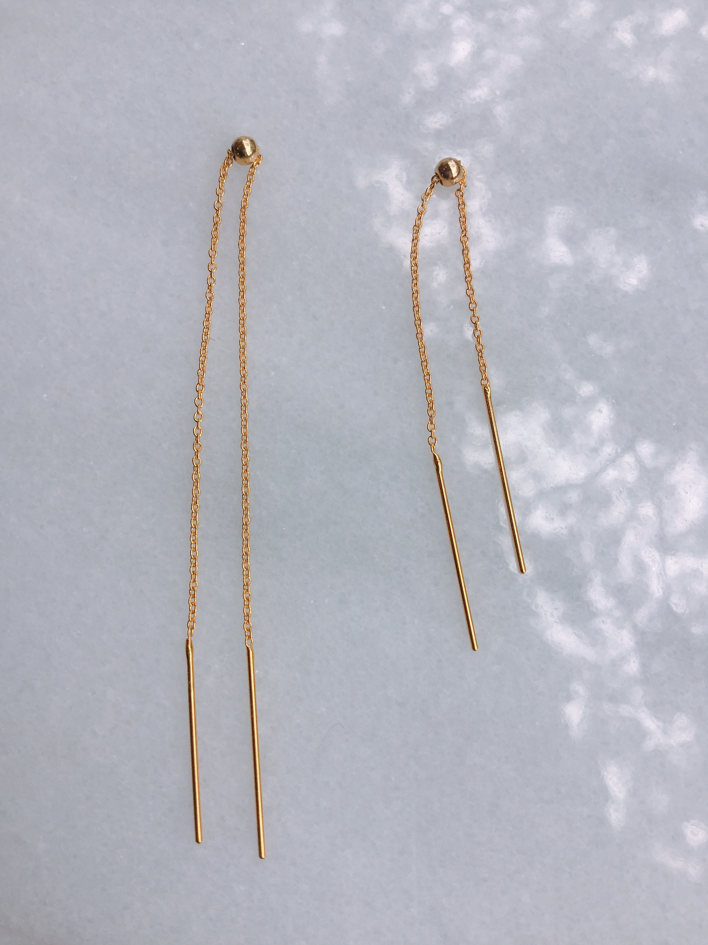 ucalypt    chain earrings