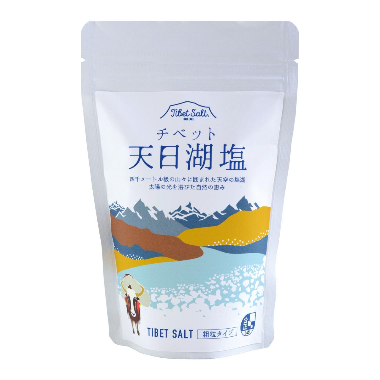 チベット天日湖塩 300g(粗塩タイプ) ※チベットの雪華リニュール!
