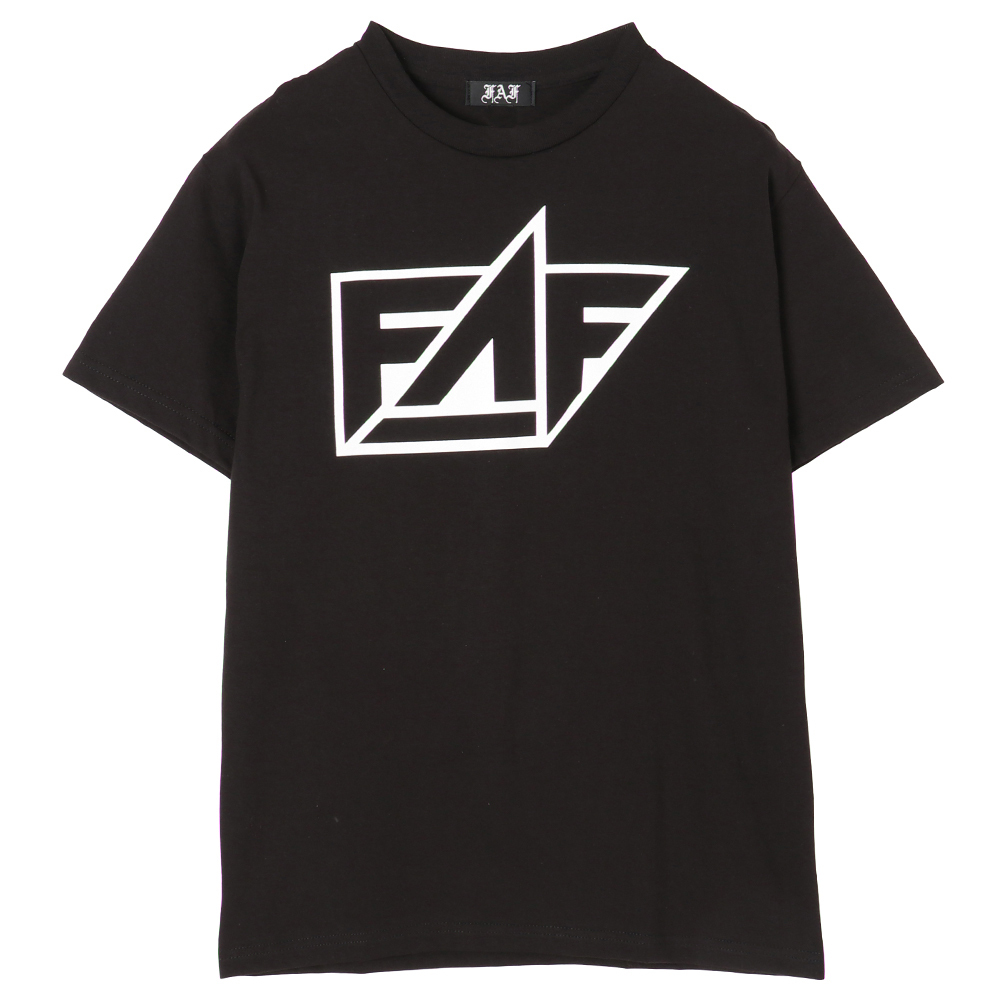 FAF Logo Tee - Black - 画像1