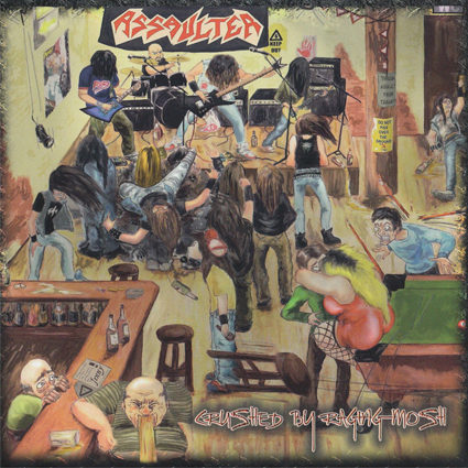 """ASSAULTER """"Crushed By Raging Mosh"""" (輸入盤)"""