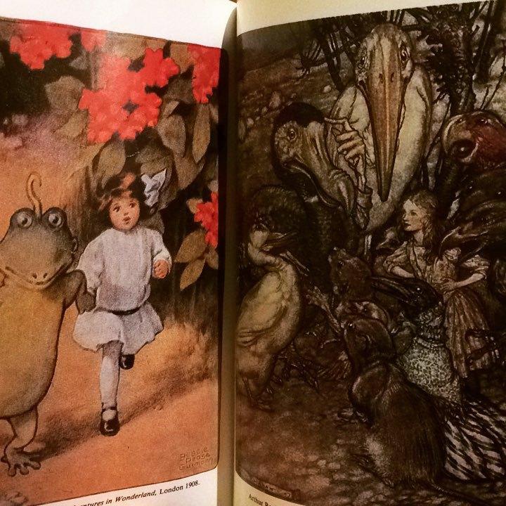 不思議の国のアリス 挿絵集「The Illustrators of 'Alice in Wonderland' and 'Through the Looking Glass'」 - 画像2