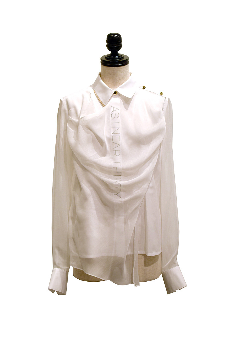 J WOO / blouse 02 / WHITE