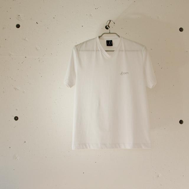 「楕円は良縁」オリジナルVネックTシャツ