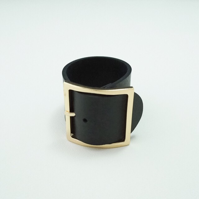 leather bangle BK