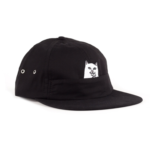 RIPNDIP リップンディップ LORD NERMAL 6 PANEL POCKET HAT (BLACK)