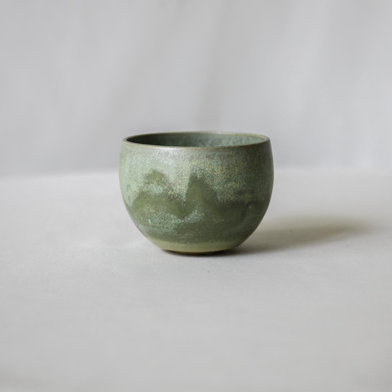 Bowl Pot(Nostalgia Green※窯変)XS