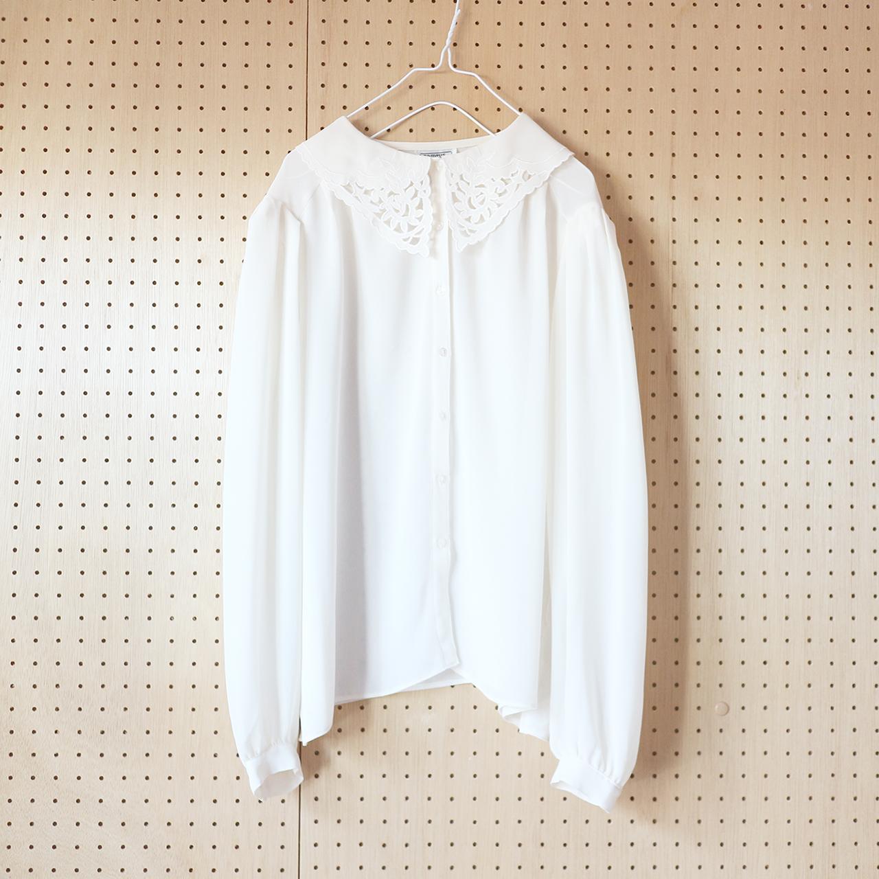 off white & lace chiffon_BL
