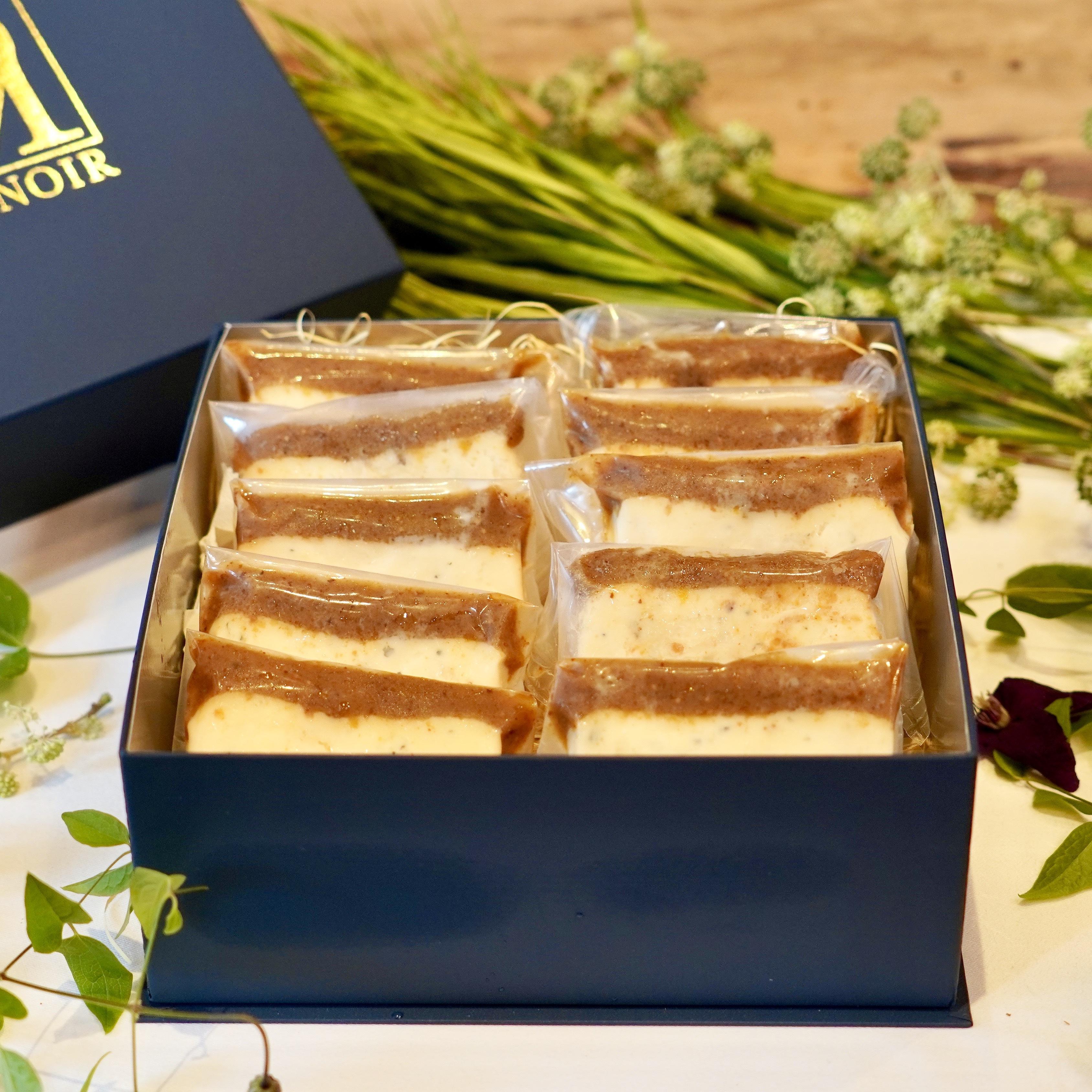 ロックフォールとシャトーディケムのチーズケーキ10枚入りセット