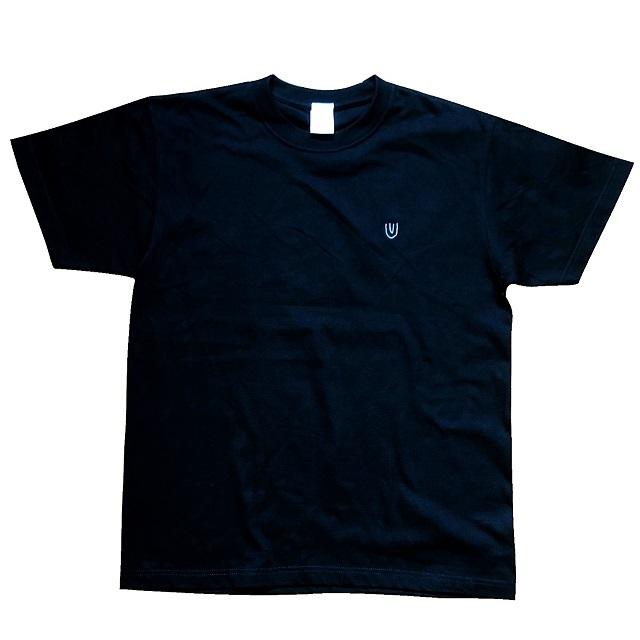 """Symbol -black×刺繍white-"" (Heavy) T-Shirt"