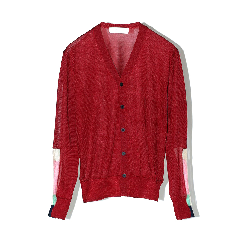 TOGA Blight jnnit cardigan RED