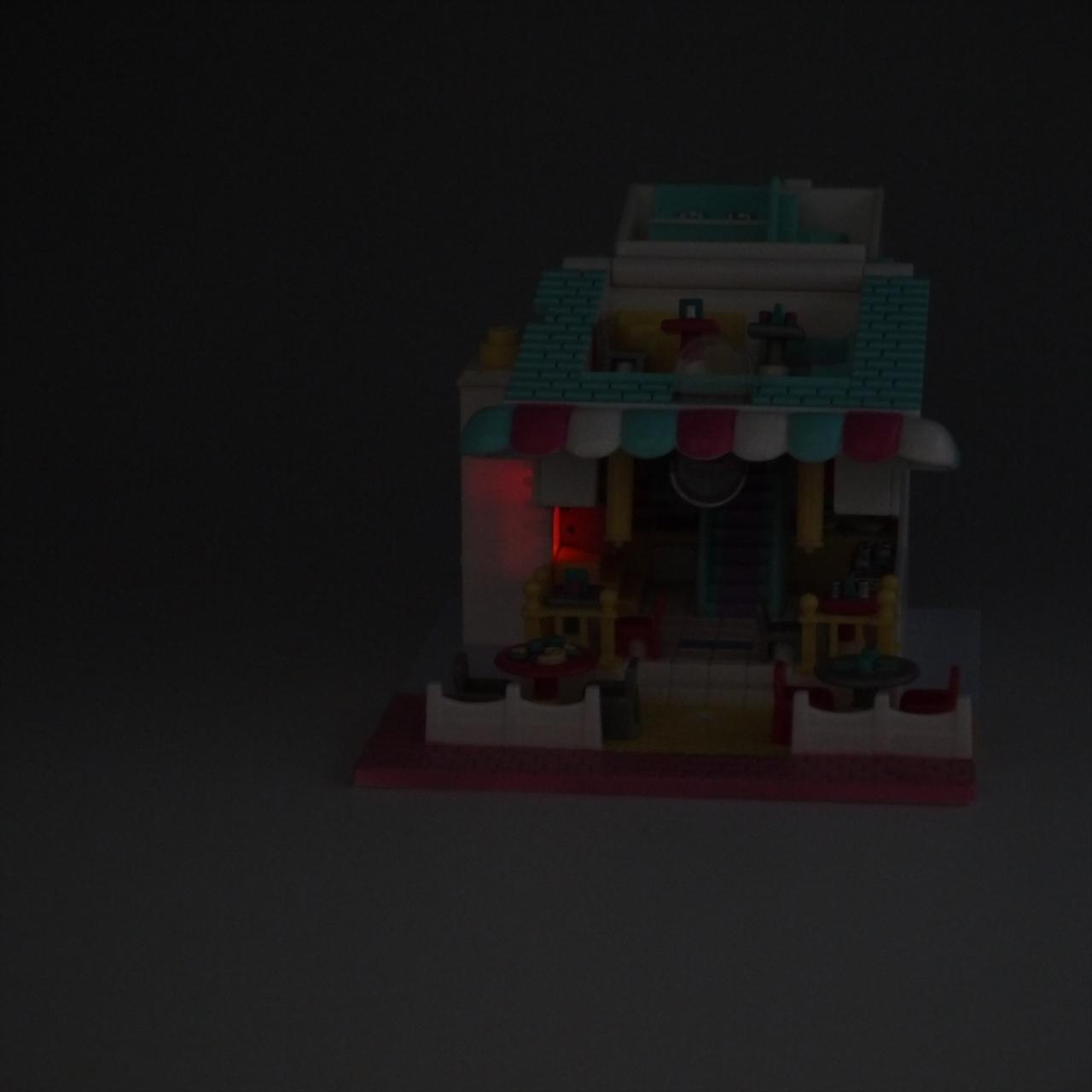 ポーリーポケット ライトアップピザ屋さん 1993年 完品 ポーリータウンシリーズ