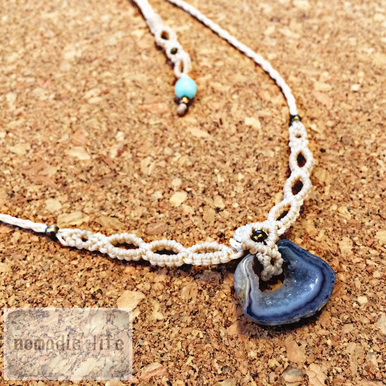 Agate Necklace//No.103