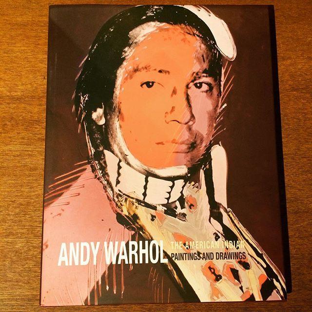 画集「The American Indian, Paintings and Drawings/Andy Warhol」 - 画像1