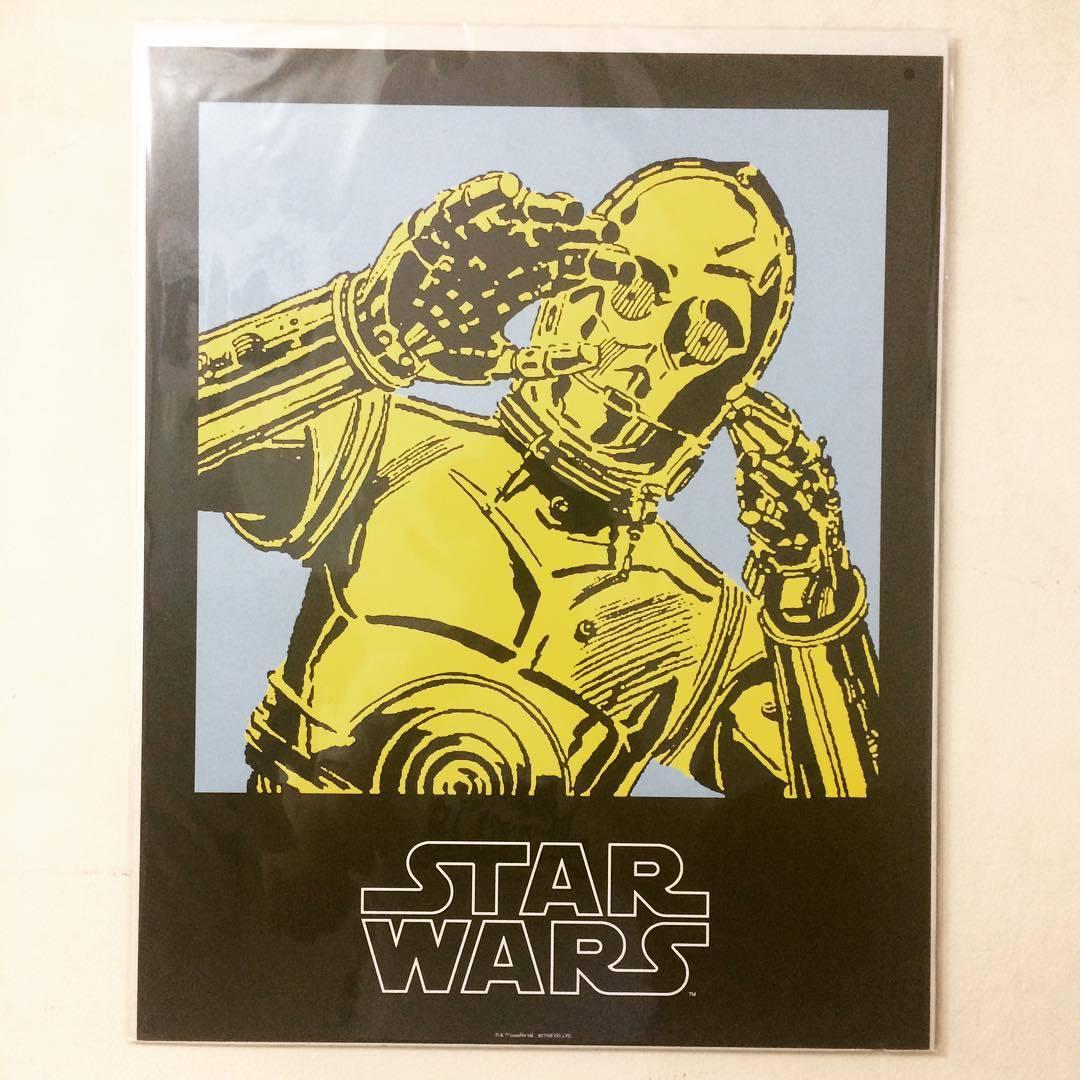 ポスター「スター・ウォーズ C-3PO」 スターウォーズ - 画像1
