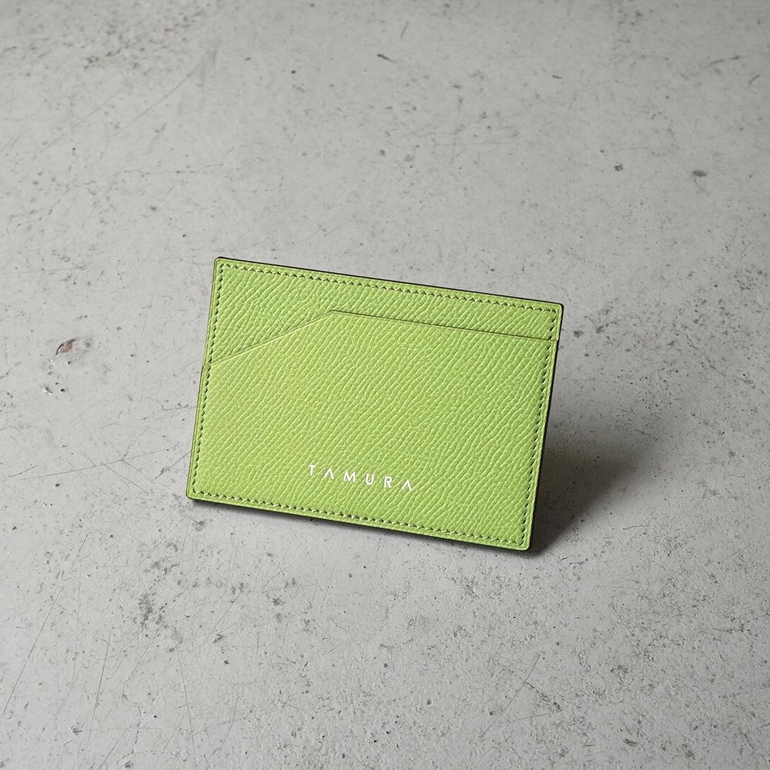 カードケース <Deneb> アップルグリーン