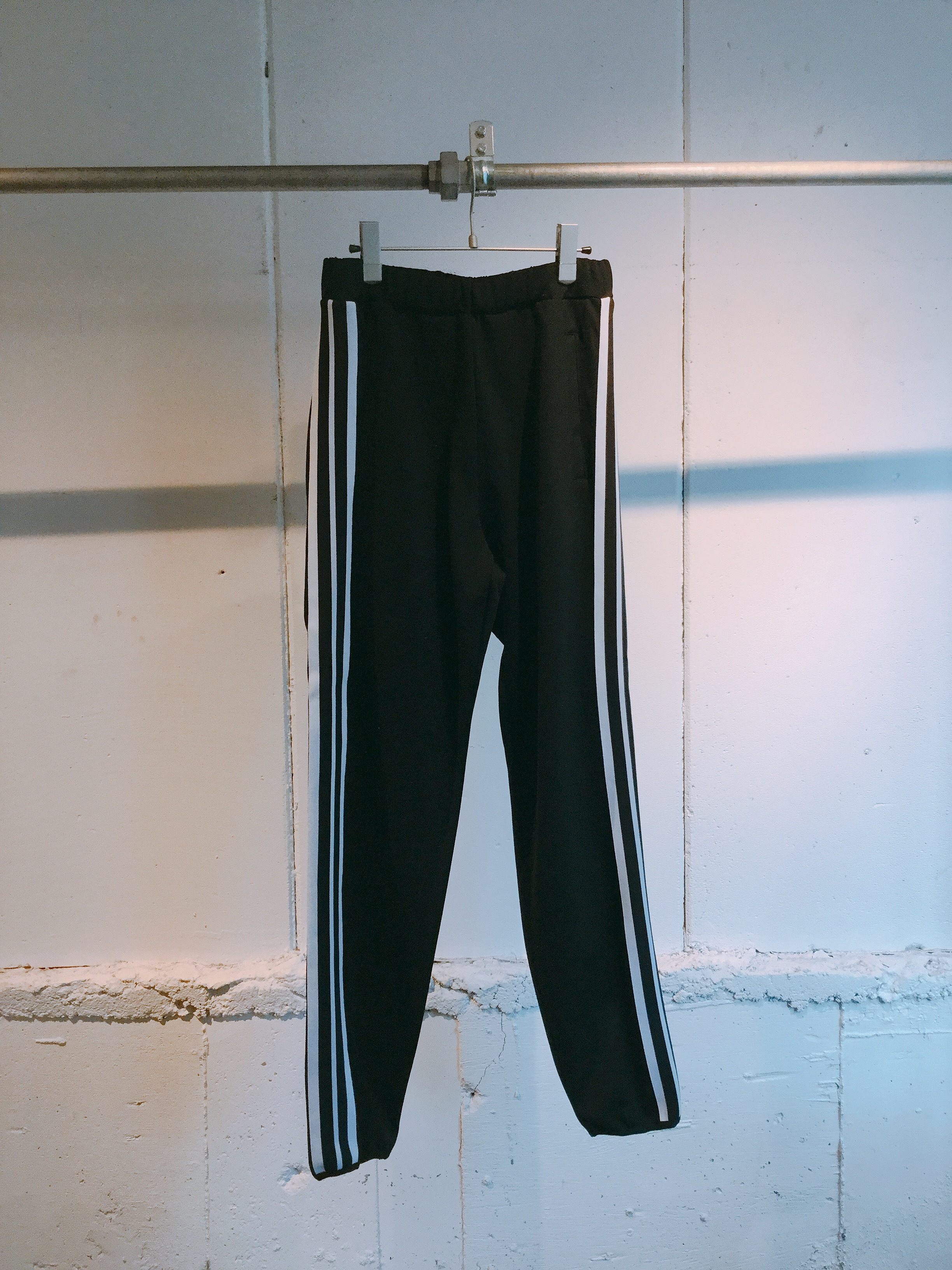 NEONSIGN Lined Track Pants (BLACK)