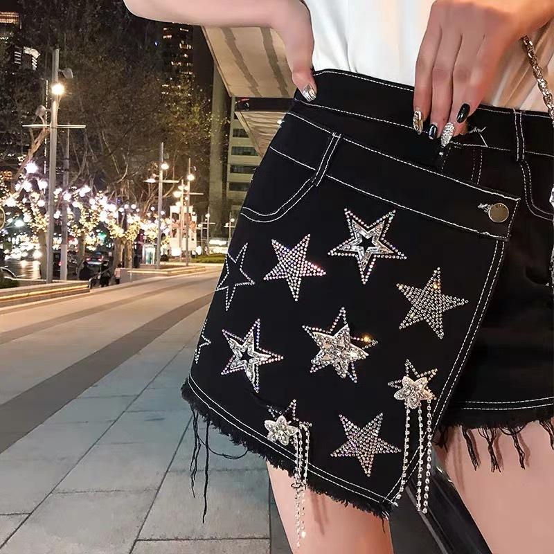 side many star pants