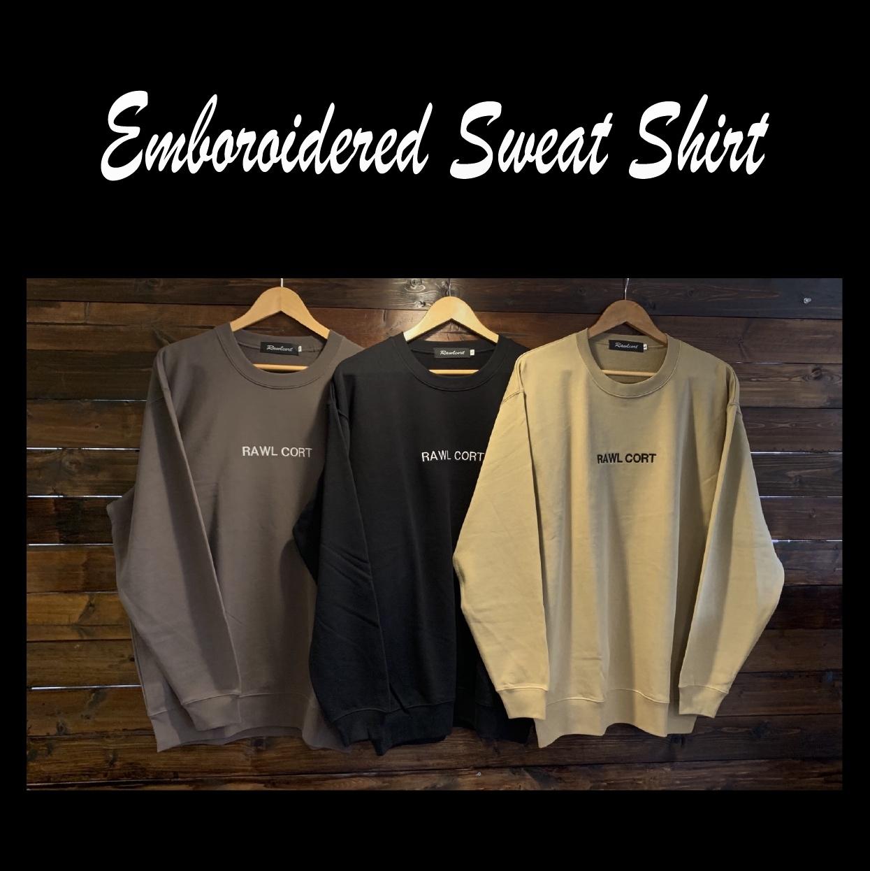 Emboroiderd Sweat Shirt