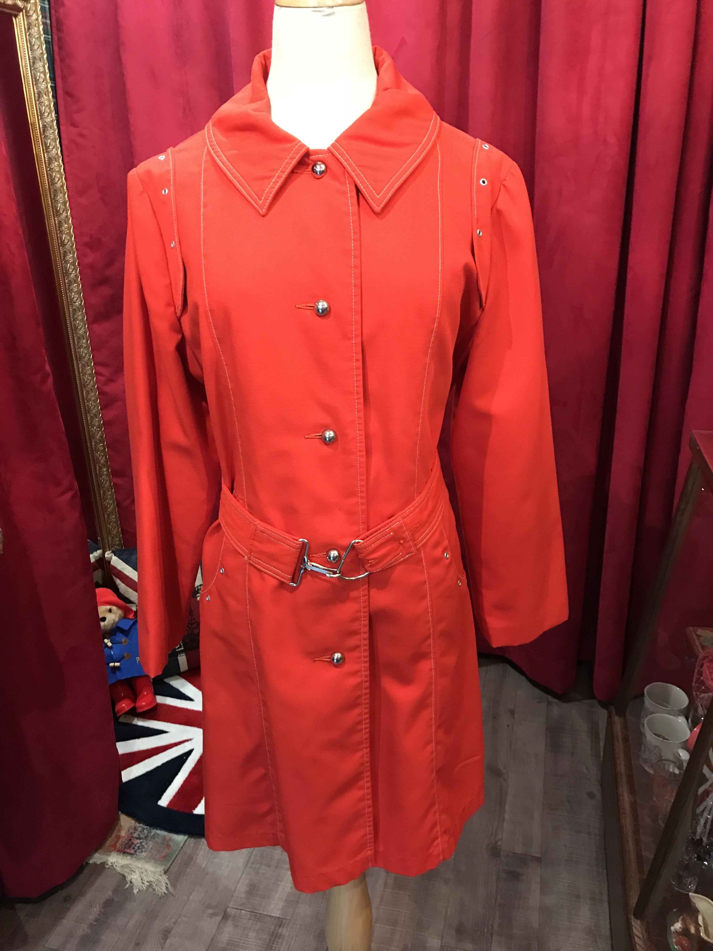 英国70's Vintageコート レディース