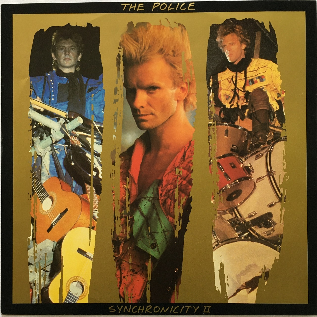 【12inch・米盤】The Police  /  Synchronicity II
