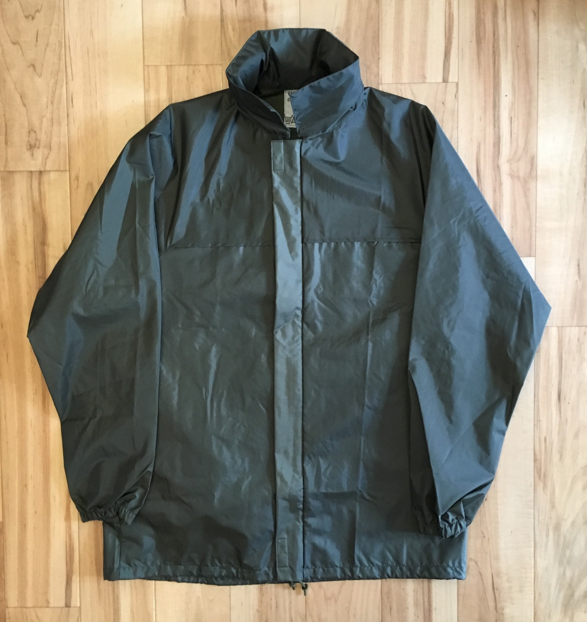 DEADSTOCK French Military Rain Jacket