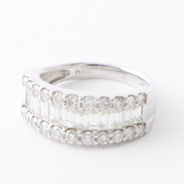 PT900  2.0ctダイヤモンドリング