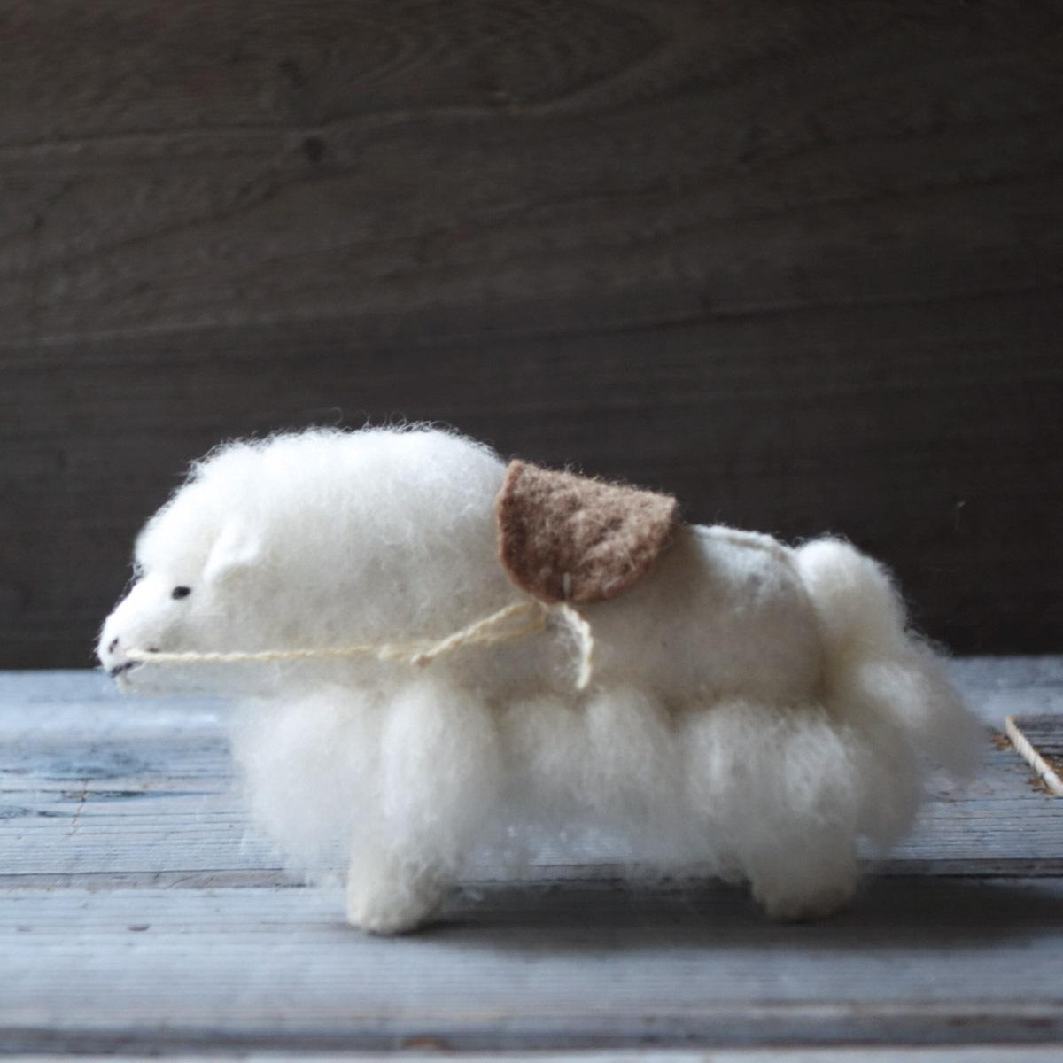 モンゴルの羊毛 ヤク (丑年限定)