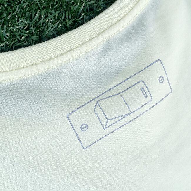 sasakure.UK 「ココロ♥ポッカリ」Tシャツ(レディース/シャーベットイエロー) - 画像3