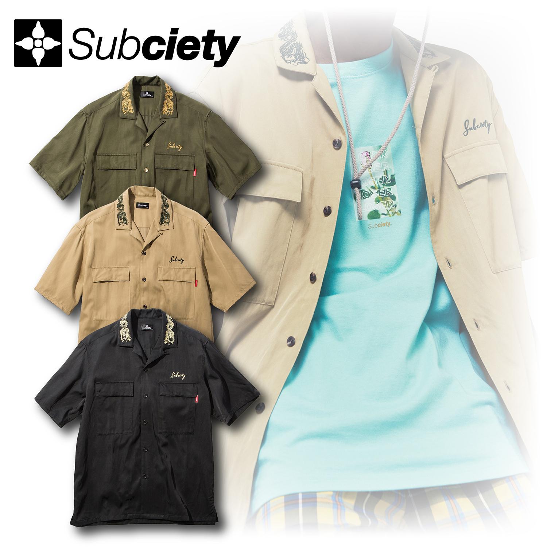 Subciety(サブサエティ) | MILITARY SHIRT