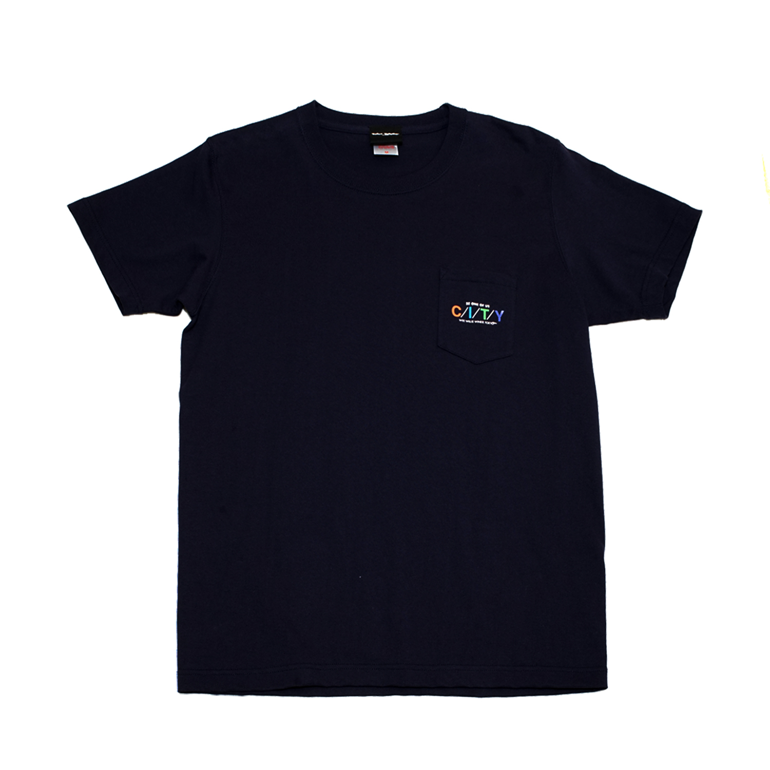 WWWTYO CITY POCKET TEE (NAVY)