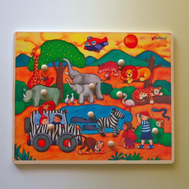 チェローナ 木のパズル 動物園